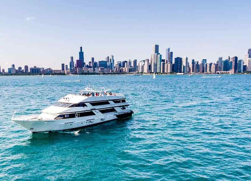 Chicago Yacht Charters Party Boat Rental Anita Dee Yacht